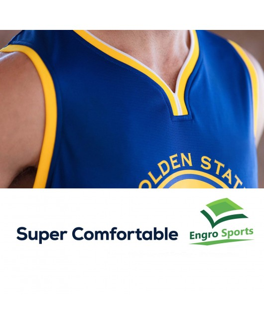 Youth Golden State Warriors Engro sports White Team Jersey