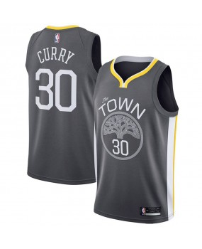 Men's Golden State Warriors Engro sports Black Swingman Jersey