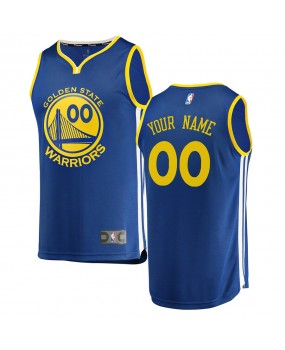 Youth Golden State Warriors Royal Engro Replica Jersey