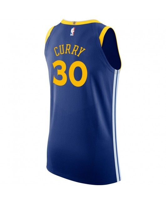 Men's Golden State Warriors Engro Royal Authentic Jersey