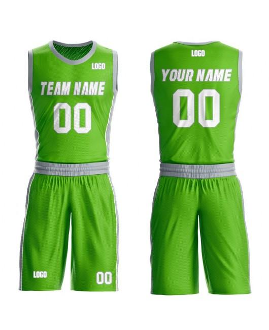Engro Basketball Jerseys Set with Custom Design Aqua and Gray